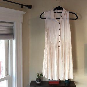 Forever 21 sheer summer dress in light pink